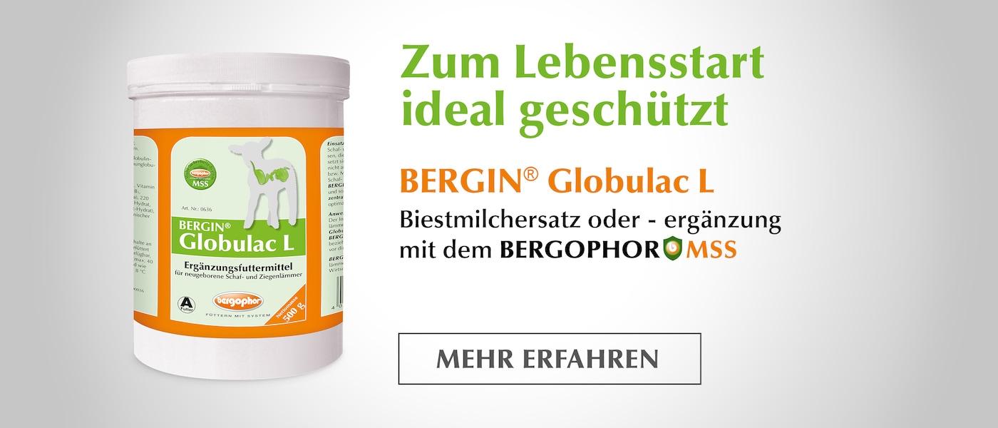 Zum Lebensstart ideal geschützt - BERGIN® Globulac L