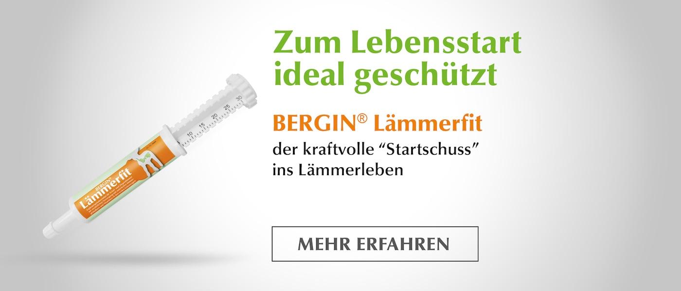 Zum Lebensstart ideal geschützt - BERGIN® Lämmefit